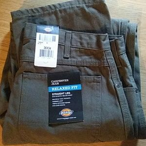 Dickies carpenters jeans in grey